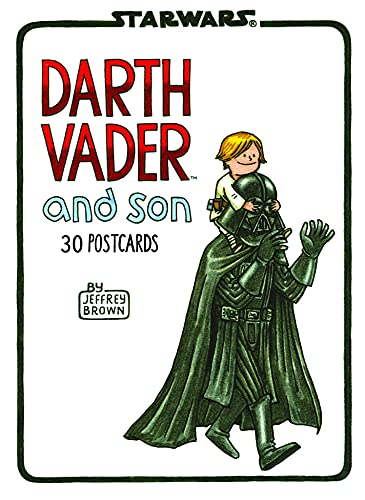 Darth Vader™ and Son: 30 Postcards (Illustrated Star Wars Greeting Cards for Father and Son, Gift for Star Wars Dad)