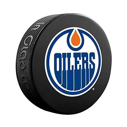 PROGUARD SPORTS NHL Licensed Edmonton Oilers Player Ice Hockey Logo Puck