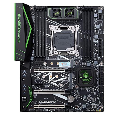 Milue Placa mãe X99 F8D Intel LGA 2011-3 NVME M.2 suporta memória 4 canais DDR4 compatível com ECC XEON E5 2678 V3 V4 Ddr4