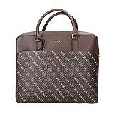 Guess Borsa cartella uomo Vezzola briefcase dark brown UBS21GU11 HMVEZLP1113 Media