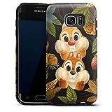Coque Compatible avec Samsung Galaxy S7 Edge Coque renforcée Coque Antichoc Disney Tic et Tac...