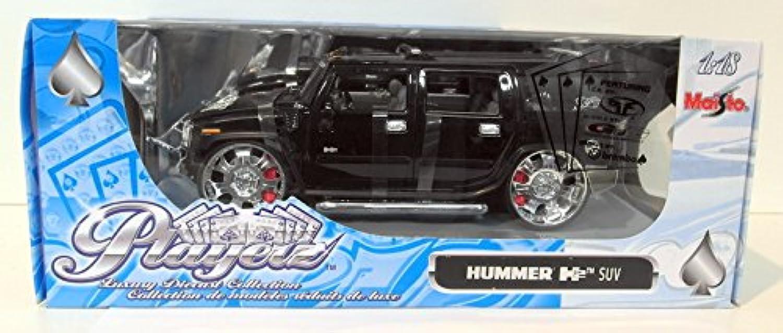 Maisto 531055 - PlayerZ Hummer H2, 1 18 B0006UFY6E Erschwinglich  | Günstigstes