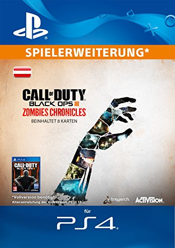 Call of Duty Black Ops III Zombies Chronicles Edition DLC [PS4 Download Code - österreichisches Konto]