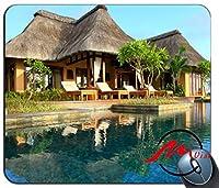 ZMviseビーチサンシャイン背景ファッション漫画マウスパッドマットカスタム四角形ゲームマウスパッド