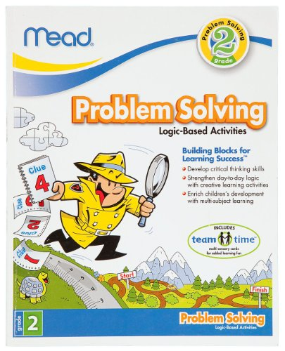 Mead 2nd Grade Problem Solving Workbook, 10 x 8-Inches, 96 Pages (48030)