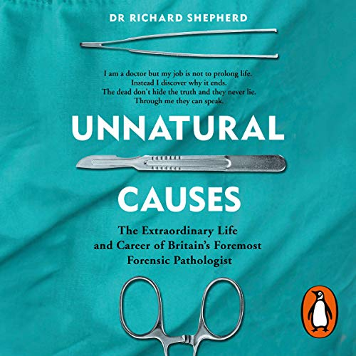 Unnatural Causes audiobook cover art
