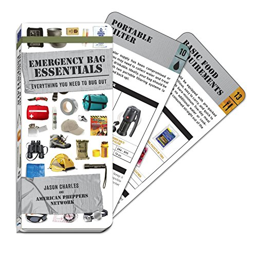Emergency Bag Essentials (Swatchbook): Everything You Need to Bug Out