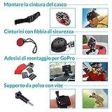 Zoom IMG-2 accessori action cam kit 77