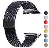 VIKATech Compatible Cinturino per Apple Watch Cinturino 44mm 42mm, Cinturino Orologio Bracciale in Acciaio Inossidabile Cinghia...