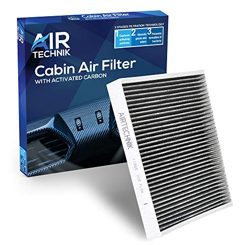 AirTechnik CF11966 Cabin Air Filter w/Activated Carbon | Fits Select Buick, Cadillac, Chevy, GMC Models
