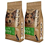 YERBERO Nature Adult 2 uds de 15 kg de Comida Premium para Perros con 15% de Ahorro.