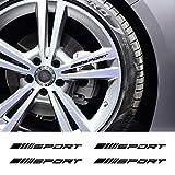 JIERS para Mercedes Benz W212 W205 W204 W203 W210 W211 W124 W214 AMG GLA GLC GLS GLE CLA Aces Clase, Llantas Deportivas Pegatinas de Rueda Pegatinas de Coche