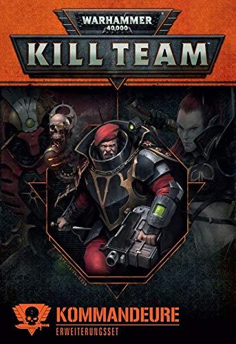 Games Workshop Warhammer 40.000 Kill Team Commanders (Deutsch) Buch Karten Token
