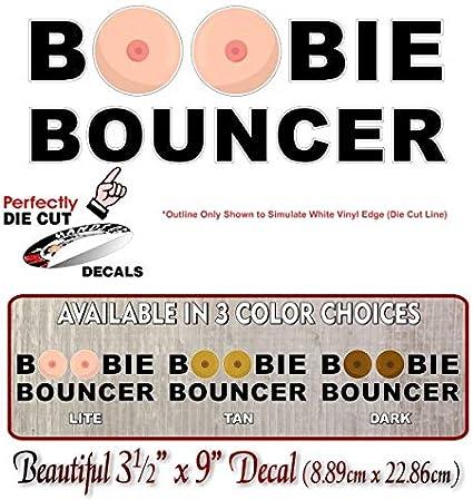 Boobie Bouncer Windshield Window Laptop Decal Sticker JDM USDM KDM EURO