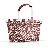 reisenthel carrybag diamonds rouge Maße: 48 x 29 x 28 cm/Volumen: 22 l