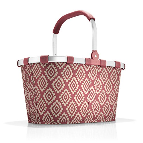 reisenthel carrybag diamonds rouge Maße: 48 x 29 x 28 cm/Volumen: 22 l