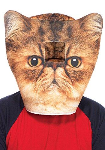 Leg Avenue Masque De Chat Angry Birds en Mousse 5 463,5 cm Veste de Costume (Taille Unique)