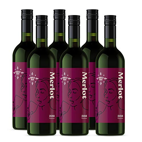 Marchio Amazon - Compass Road Merlot, Francia (6x75cl)