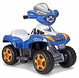 FEBER Kripton - Quad électrique pour enfants de 18 mois à 3 ans, 6V, Bleu (Famosa 800010331)