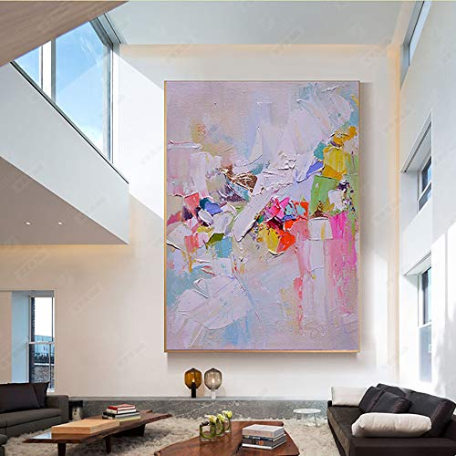 adgkitb canvas Leinwand Ölgemälde Abstrakte Farbliniendruck Leinwand Malerei Wohnzimmer Wand Schlafzimmer Korridor Dekorative Malerei 3 50x70 cm KEIN Rahmen