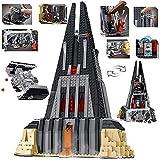 Puzzle 3D Kits De Construcción De Arquitectura De Juguetes Regalo para Niños Y Adultos Rompecabezas 3D Kit De Construcción DIY con Folleto- Star Wars Darth Vader Castle