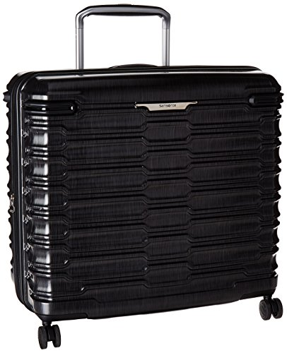 Samsonite Stryde Hardside Glider Luggage, Charcoal, Checked-Large 25-Inch