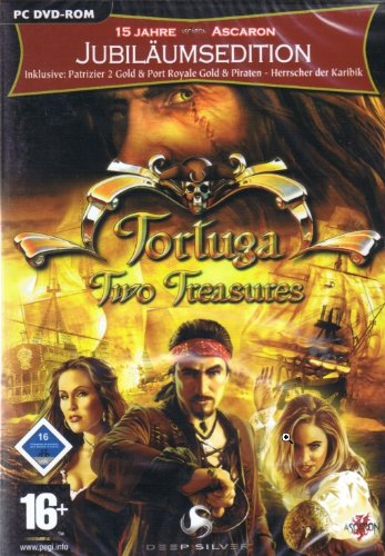 Tortuga -Two Treasures + Patrizier II Gold Edition + Port Royale + Piraten - Herrscher der Karibik