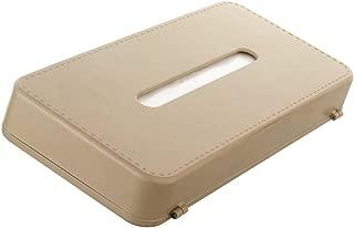 Sepia Car Sun Shade Mountable Tissue Box (Beige)