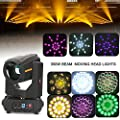 Stage Lighting Moving Head Light,LED Spot Beam DMX lighting prism Luminous DJ Party Flux Light 3-phase 17R 350W for Party Concert KTV Event Show DJ Pub Club Wedding