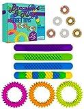 Purple Ladybug Novelty Anti Stress Fidget Toy - 13 x Sensorik Spielzeug, Zappel Spielzeug, 4 Zappel-...