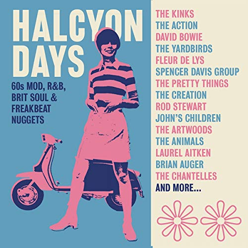 Halcyon Days ~ 60s Mod, R&B, Brit Soul & Freakbeat Nuggets: 3CD Clamshell Boxset