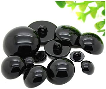 Doll Eyes Black Button Plastic Crafts DIY Toy Bear Plush Animal Toy Material