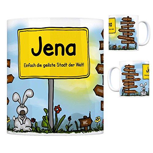 trendaffe - JENA - Einfach die geilste Stadt der Welt Kaffeebecher