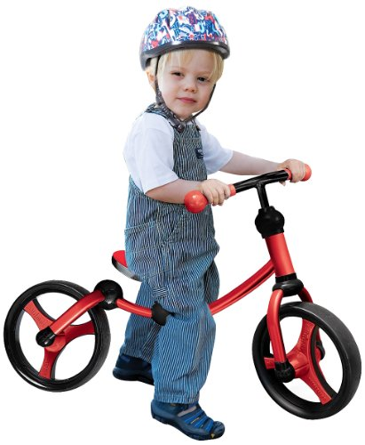 Kinderfahrzeug Smart Trike Running Bike - rot/schwarz