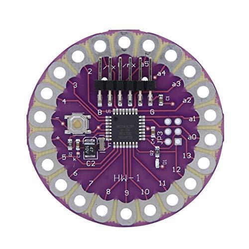 SALUTUYA Lilypad 328 Development Hauptplatine ATmega328P Hauptplatine 16M Kompatibel mit der IDE von Arduino