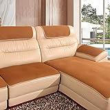 YEARLY Red Antideslizante Funda para sofá, Agujero de Nido de Abeja Piel Funda de sofá Cubrecanapé Four Seasons Tela Nordic Moderno Muebles Protectores Toalla de sofá-A 60x76cm(24x30inch)