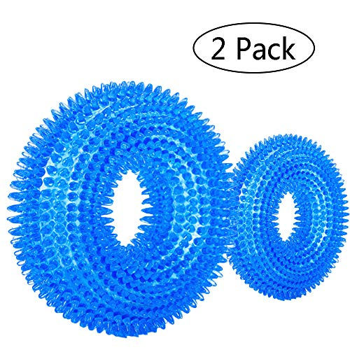Bibetter Durable Pet Puppy Dog Squeaky Chew Toys,...