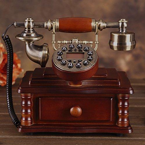 Shopping-De style européen Antique Bois Retro Fashion Creative Téléphone 208