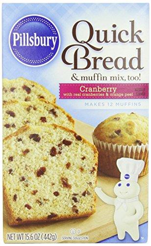 Pillsbury Cranberry Quick Bread 15.6oz (Pack of 6)