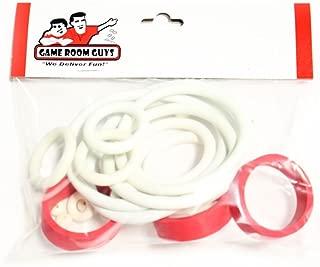 Game Room Guys Stern Dracula Pinball White Rubber Ring Kit