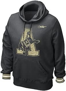 Army Black Knights Vault Stripe Pull-Over Hooded Sweatshirt
