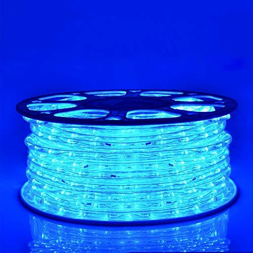 Hengda LED Lichterschlauch 40M 960 LEDs Blau Lichtschlauch LED Strip Lichterkette Schlauch für Innen und Außen Lichterkette für Zimmer Kinderzimmer Party