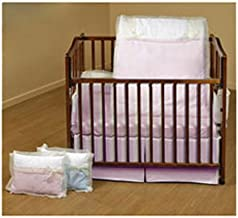 Baby Doll Bedding Classic Bows Cradle Set, Pink