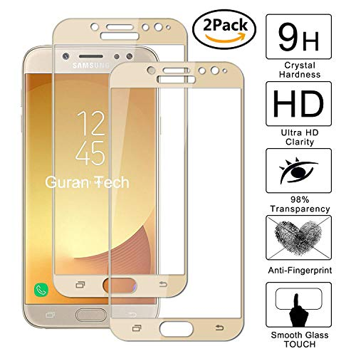 Guran [2 Paquete] Protector de Pantalla para Samsung Galaxy J7 2017 J730...