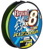 Owner Kizuna 8braid - Hilo trenzado para pesca de spinning, 135 m, diámetro: 0,10 mm, 3,8 kg