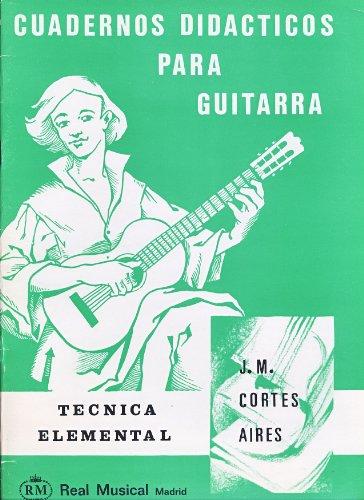 CORTES AIRES J.M. - Cuadernos Didacticos: Tecnica Elemental para Guitarra