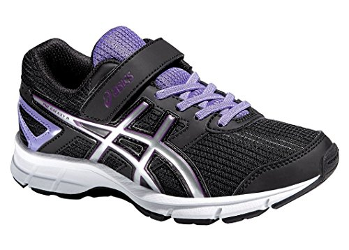 Asics Zapatillas de Running Pre Galaxy 8 PS Negro / Lila / Plata EU 34.5 (US 2H)