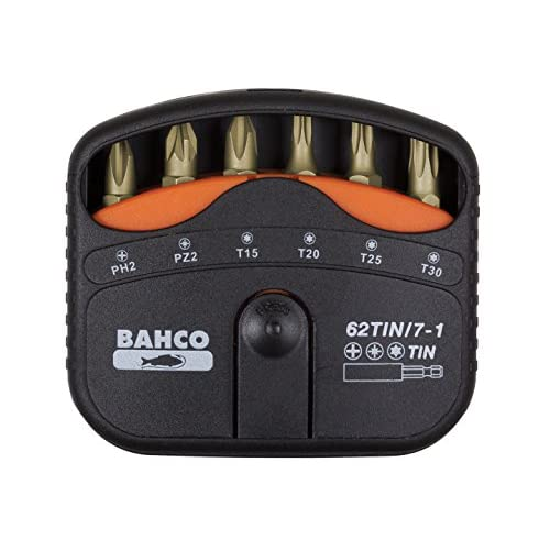 BAHCO BH62TIN/7-1 JUEGO PUNTAS Tin Torsion 7PZS