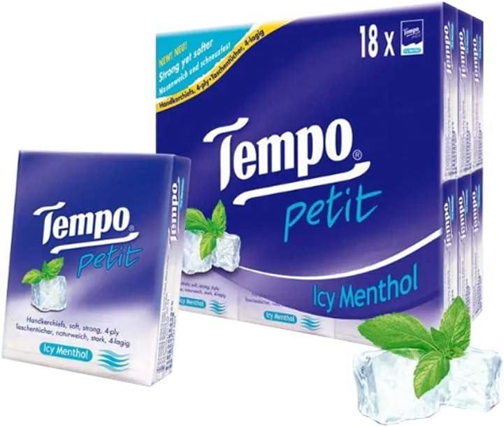 Trust Tempo Genuine Multi Task Tissues Petit 18 Scents Different Pack of
