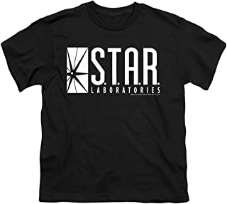 DC Comics S.T.A.R. Laboratories Logo - CW`s The Flash TV Show Youth T-Shirt